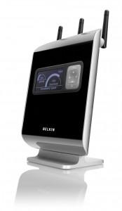 Belkin N1 Vision Wireless Router Side