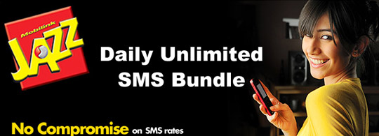 Mobilink Jazz Daily SMS Bundle is Back