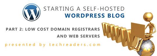 Wordress Domain Hosting Banner