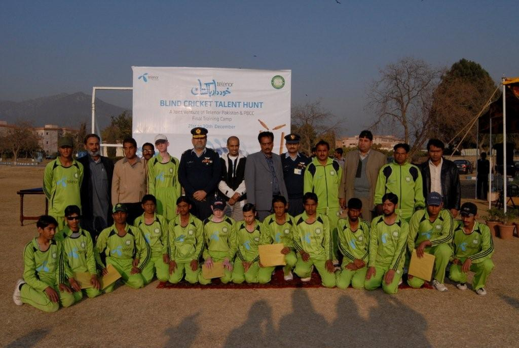 Telenor: The Khuddar Pakistan Blind Cricket Talent Hunt