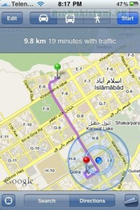 Google Mobile Map 1