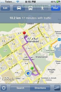 Google Mobile Map 2