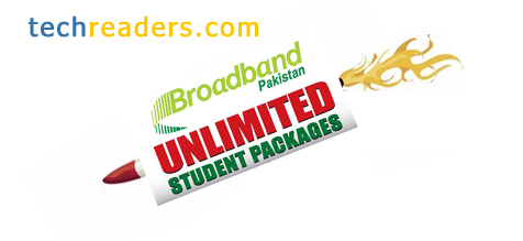 PTCL Broadband Ends Up Student Packages Over 1 MB