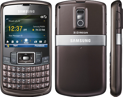 Samsung B7320 Omnia PRO Review & Specifications