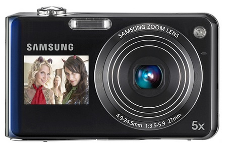 Samsung DualView TL210 and TL205 Dual LCD Digital Camera