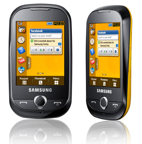 Samsung S3653 Corby Review and Specifications