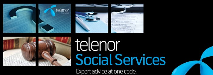 PR: Telenor Introduces IVR Social Services 1911