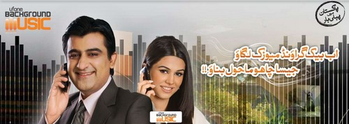 Ufone Background Music Service