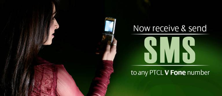 Now Send SMS from Warid to PTCL V-Fone
