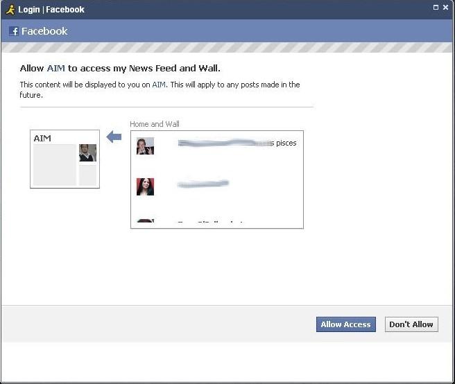 Facebook AIM