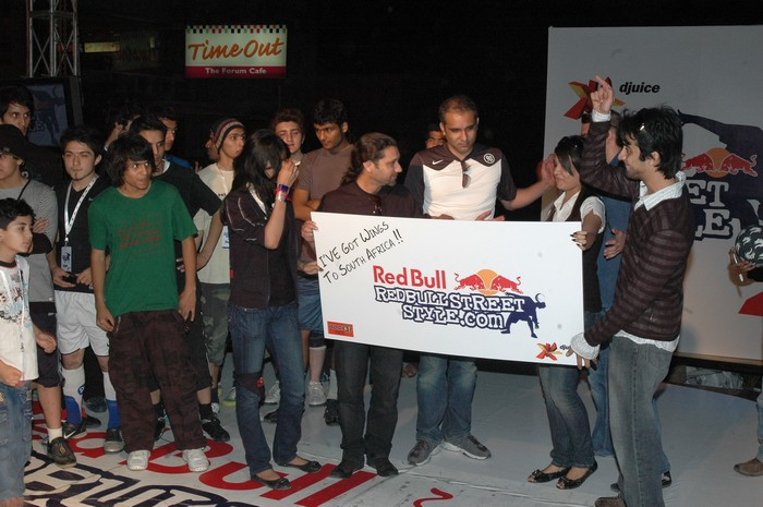 Areeb Iqbal Wins Djuice Red Bull Street Competition