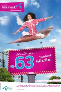 Talkshawk 63 Print Ad
