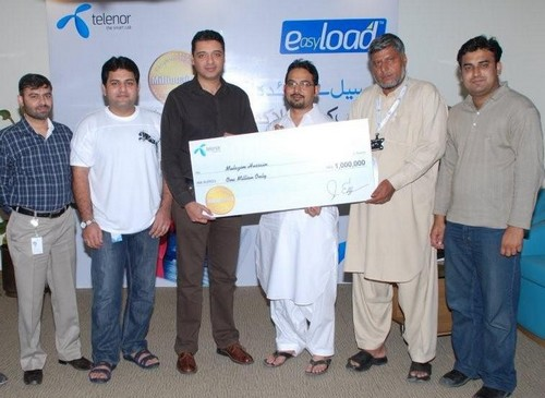 Telenor Pakistan Gives Away Millions to Retail Partners Under 'Easyload Millionaire Prize Scheme 3'