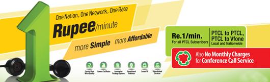 PTCL 1 Rupee Per Minute