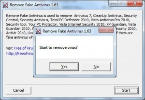 Beware of Fake Antivirus Programs