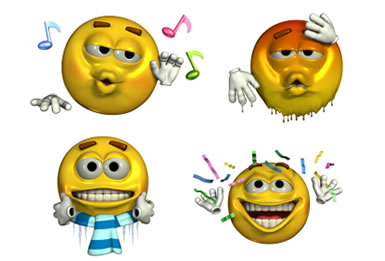 Animated Emoticon Icons