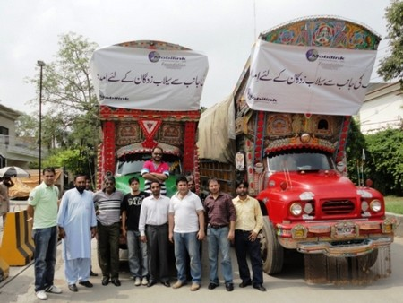 Mobilink Flood Relief