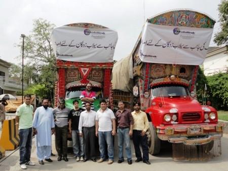 Mobilink Flood Relief
