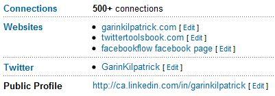 Linkedin Websites