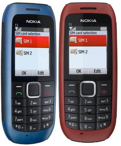Nokia C1 00 Dual SIM