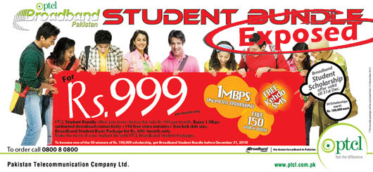 PTCL Student Package Expose