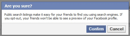 How to Remove Facebook Profile from Search Engines