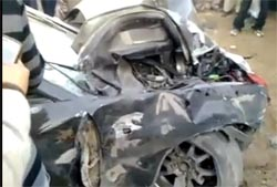 Bahria Town Car Accident