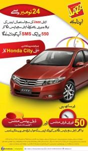 Mobilink Honda City 175x300
