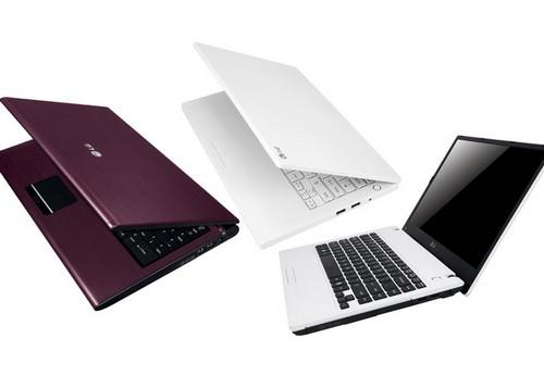 LG Electronics Unveils Three New Premium Notebooks