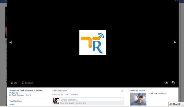 Facebook New Photo Viewer