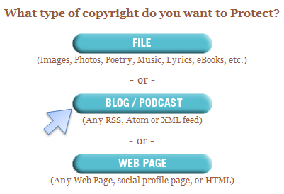 Get Free Copyrights Step 2