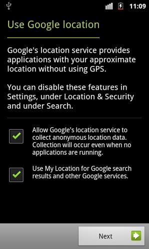 Google Location