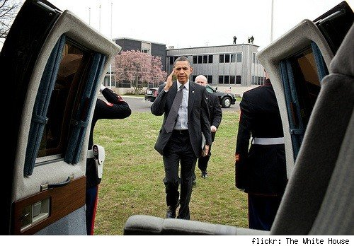 Obama iPad 2