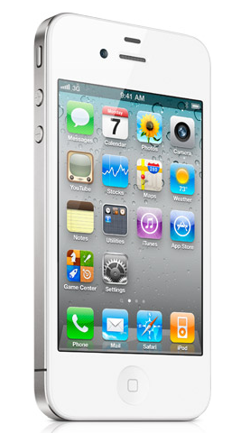 White iPhone 41