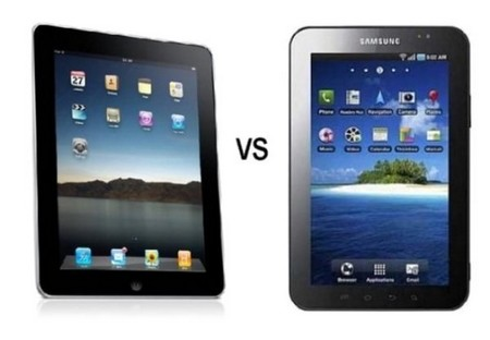 Comparison Between iPad and Galaxy Tablet