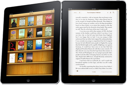 Tablet iBooks
