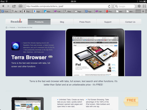 Terra Browser