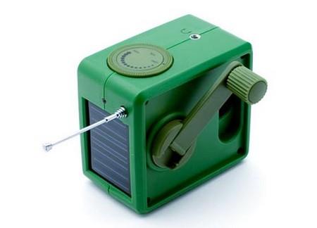 Eco friendly radio