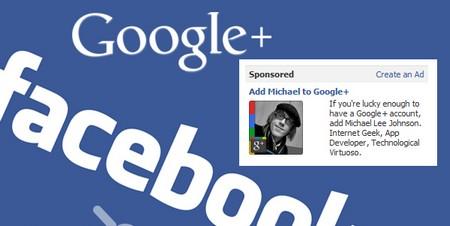 Facebook Bans Google plus