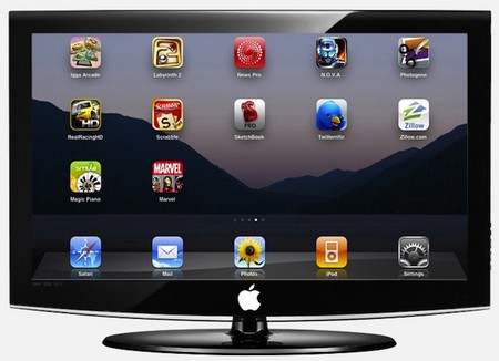 Apple working Television Set