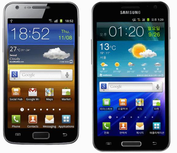 Galaxy S II LTE Galaxy S II HD LTE