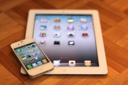 iPad and iPhone 5