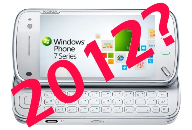 nokia windows phone 7 2012