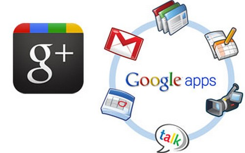 Google+ supports Google Apps