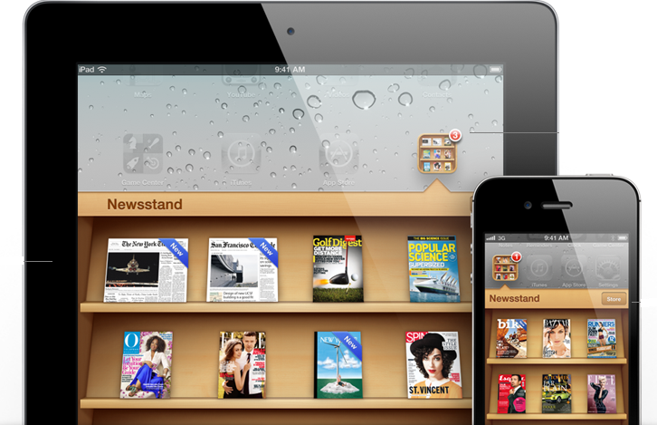 Newsstand Features