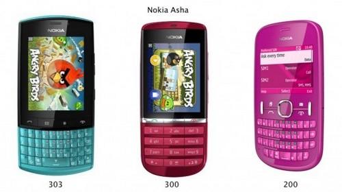 Nokia Asha Lineup