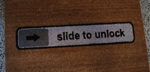 Slide to Unlock Patent