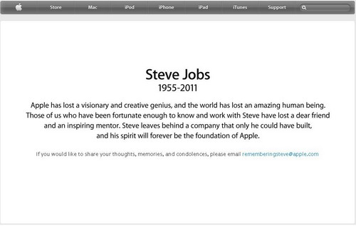 Steve Job Tribute