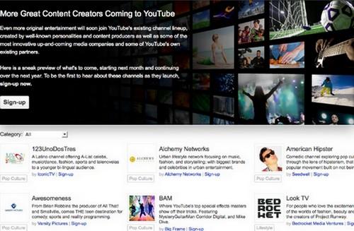 YouTube Channels1