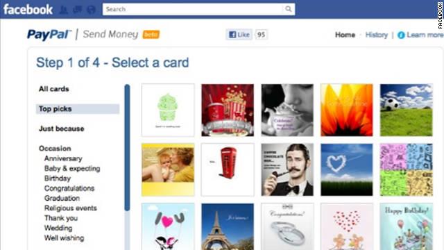 Paypal Facebook App